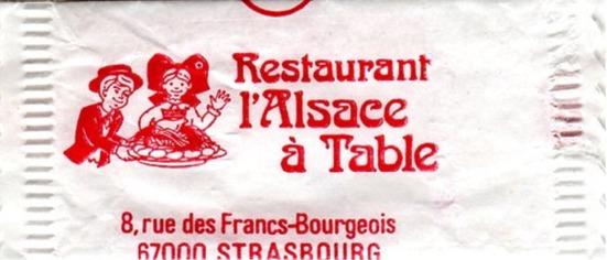 Alsace à table