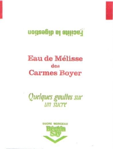 Eau des Carmes Boyer