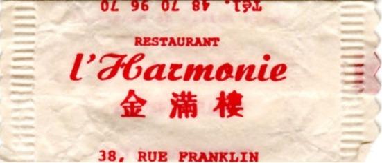 Harmonie (l')