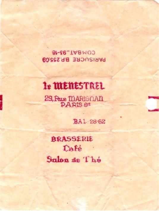 Menestrel (le)