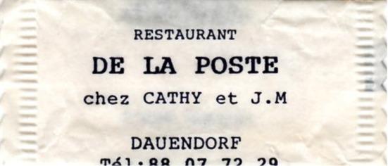 Poste (Restaurant de la)